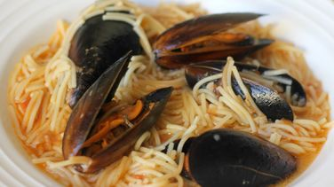 Noodles with Mussels