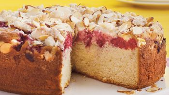Mile High Raspberry Coffee Cake