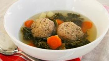 Slow-Cooker Meatball Soup