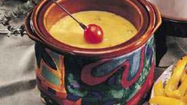 Double-Cheese Fondue