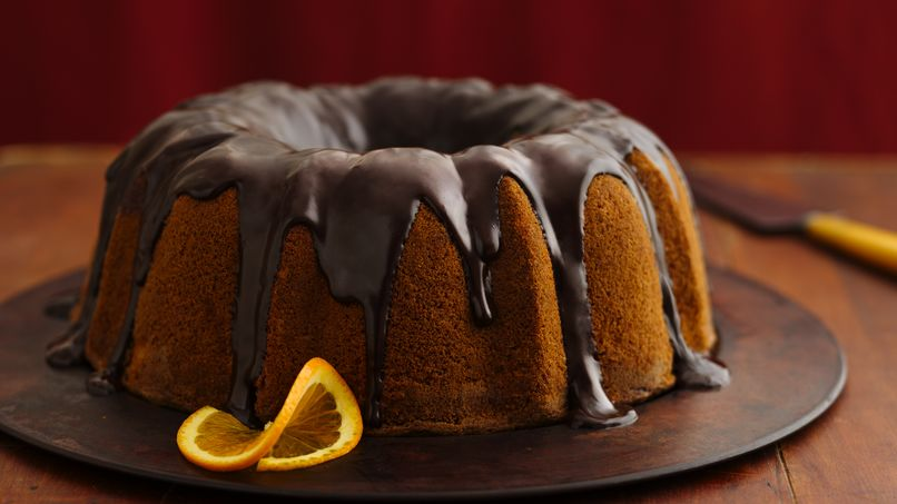 Double Orange Chiffon Cake