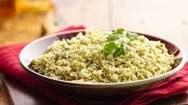 Cilantro-Parsley Rice