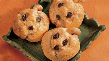 Mini Pumpkin Biscuits