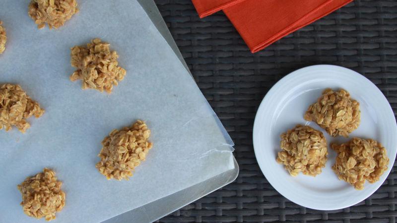 No-Bake Pumpkin Cookies