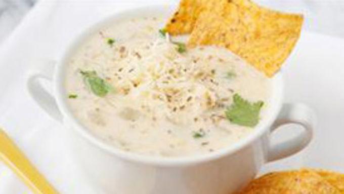 Creamy Green Enchilada Soup