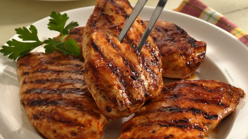 Marinated Grilled Teriyaki Chicken Breasts
