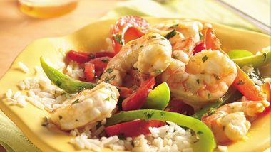 Margarita Shrimp Stir-Fry