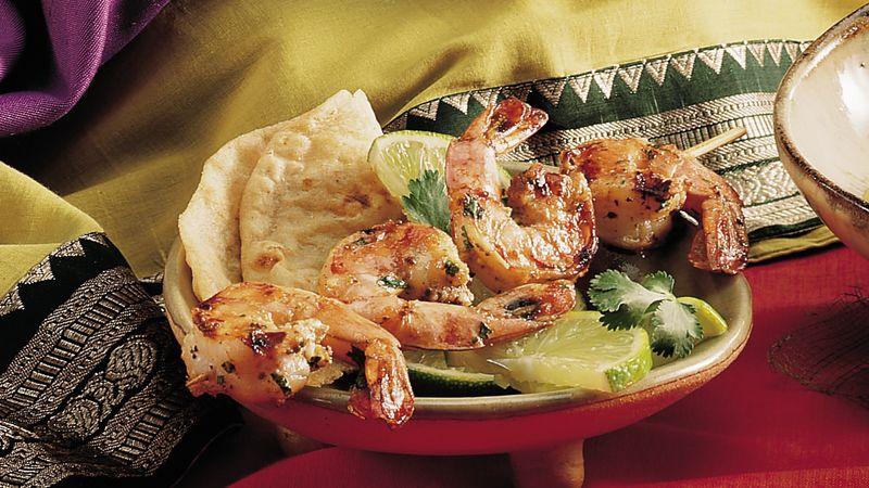 Marinated Grilled Shrimp (Tandoori Jhinga)