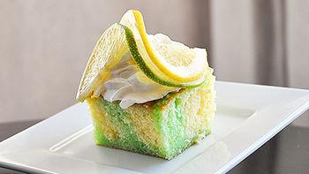 Lemon-Lime Poke Cake
