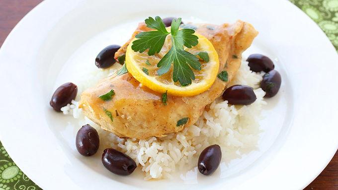 Slow-Cooker Lemon Chicken