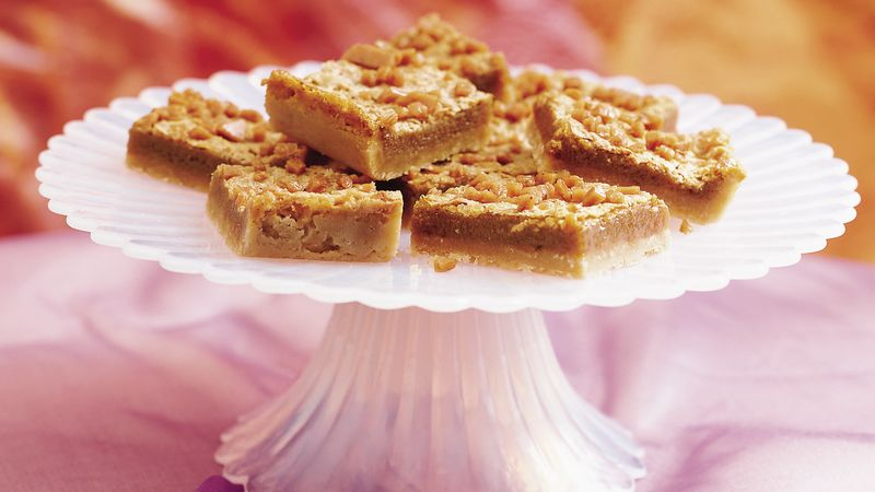 Heavenly Cappuccino Praline Bars