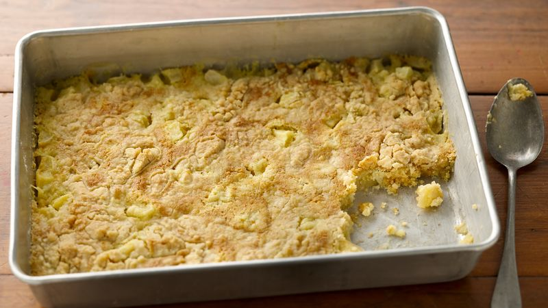 3 Ingredient Apple Dump Cake Recipe From Betty Crocker
