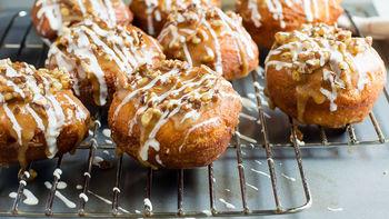 Sticky Bun Doughnuts