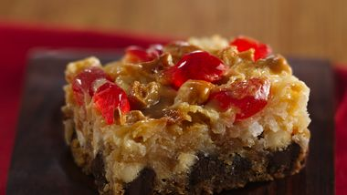 Gluten-Free Holiday Layer Bars
