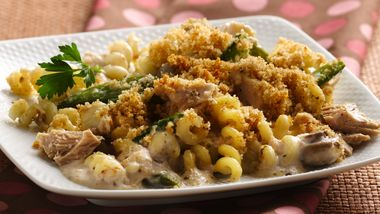 Contemporary Tuna-Noodle Casserole