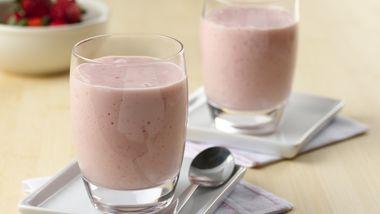 Easy Strawberry-Banana Smoothies