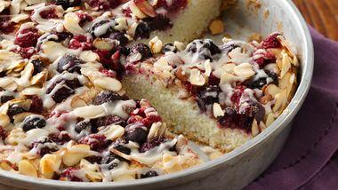 Gluten-Free Almond Berry Coffee Cake