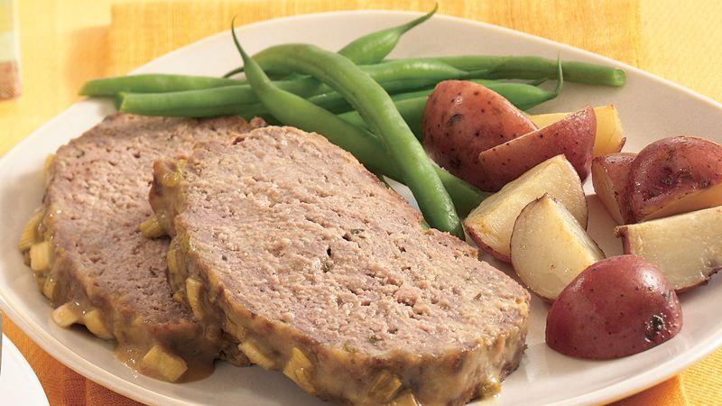 Mustard-Glazed Meatloaf