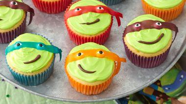 Teenage Mutant Ninja Turtles Cupcakes
