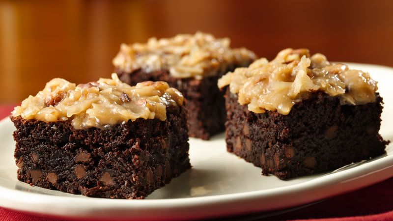 German Chocolate Cake Box