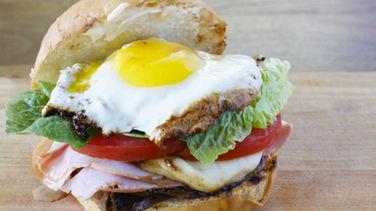 Uruguayan Chivito Sandwich