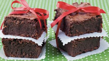 Mexican-Spiced Fudge Brownies