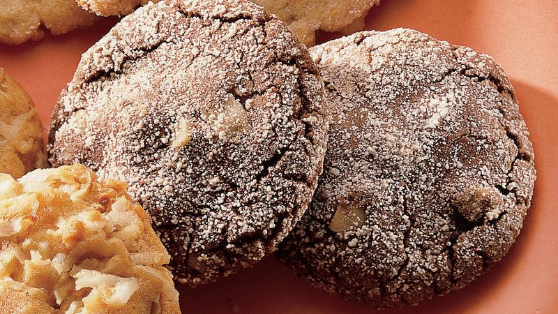 Fudgy Mocha Cookies
