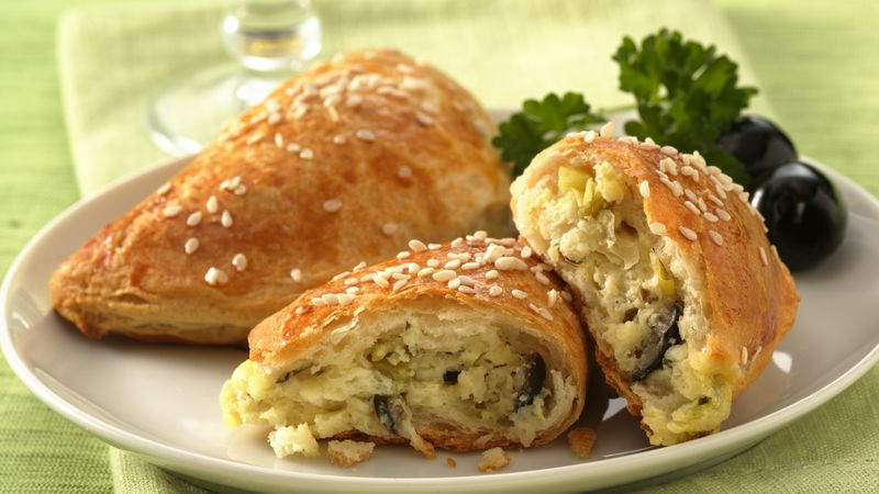 Mediterranean Cheese Foldovers
