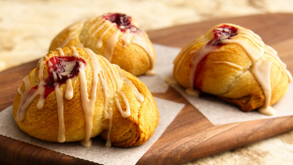 Easy Crescent Danish Rolls
