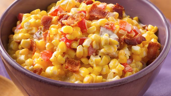 Slow-Cooker Chive-and-Onion Creamed Corn
