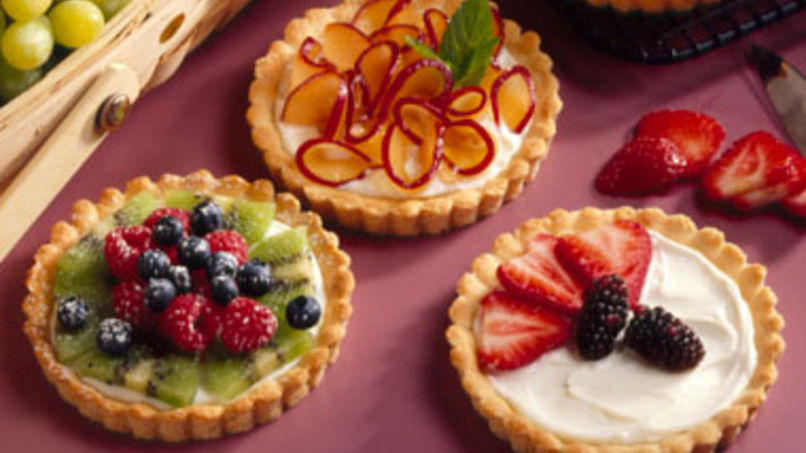 Creamy Fruit Tarts