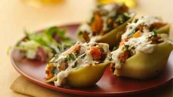 Roasted Butternut Squash-Stuffed Shells