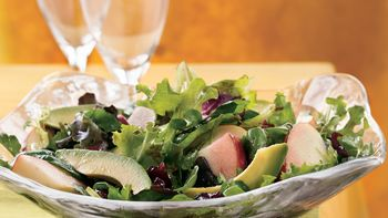 Mixed Greens with Cranberry Vinaigrette