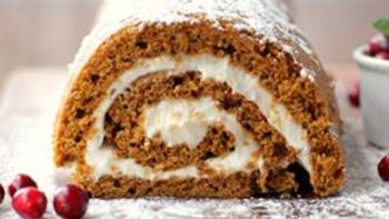 Gingerbread Pumpkin Roll