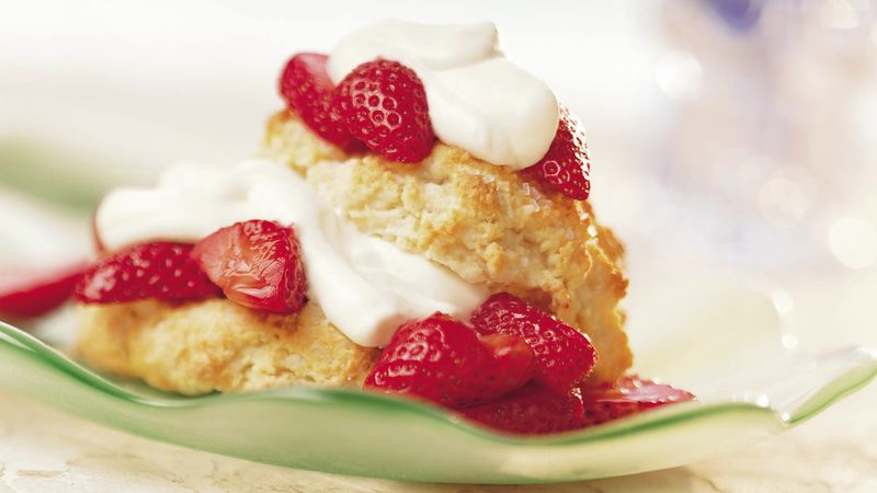 Big-Batch Strawberry Shortcakes