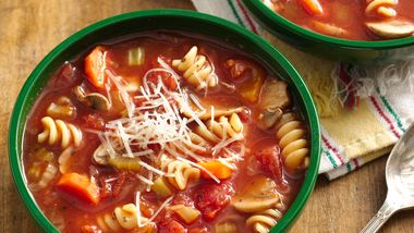 Slow-Cooker Vegetable Minestrone