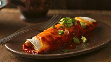 Chile-Chicken Enchiladas