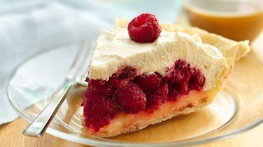 Lemon-Raspberry Pie