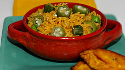 Rice with Okra