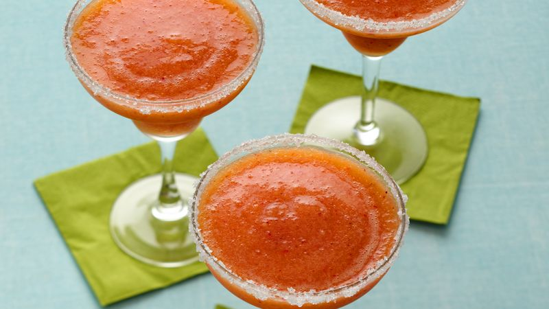 Mango Strawberry Margaritas