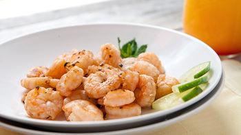 Tequila Sunrise Shrimp