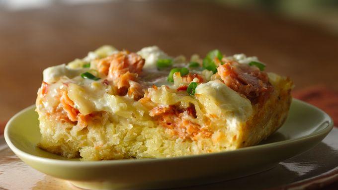 Smoked Salmon Breakfast Bake