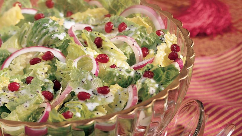 Pomegranate and Poppy Seed Salad