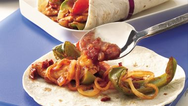 Grilled Chicken Fajita Stir-Fry