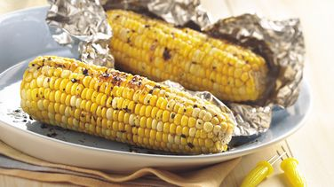 Cilantro Grilled Corn