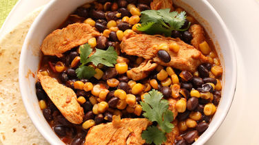 Southwestern Chicken and Beans