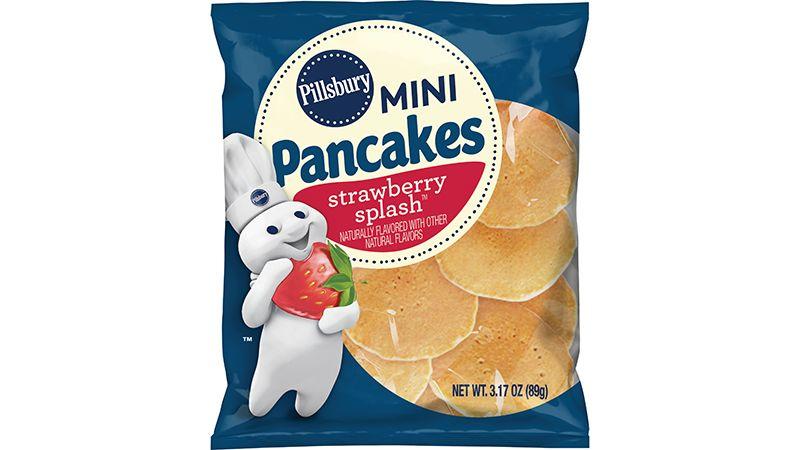 Mini Pancakes, Strawberry Splash