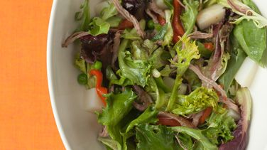 Flank Vegetable Salad