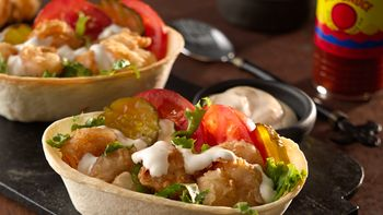 Shrimp Po' Boy Taco Boats™
