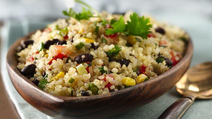 Gluten-Free Quinoa with Black Beans